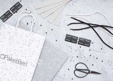 Пакеты с логотипом PaketBeri
