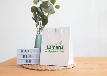 Пакет с логотипом Lamaris