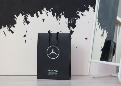Бумажный пакет Авангард Mercedes Benz