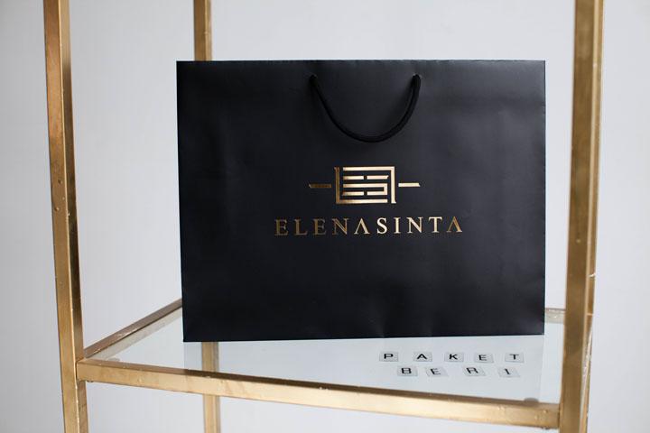 Бумажный пакет для магазина ElenaSinta