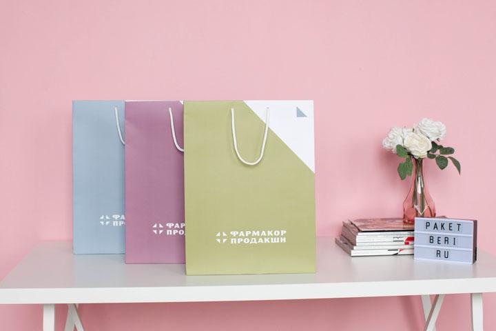 Бумажные пакеты для Фармакор