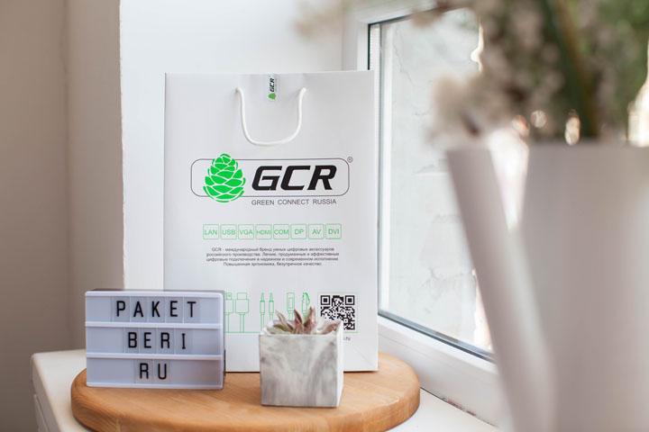 Бумажный пакет для компании GCR